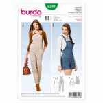 BURDA - 6599 Ladies Overalls