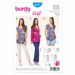 BURDA - 6607 Ladies Coordinates