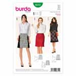 BURDA - 6612 Ladies Skirt