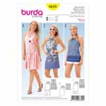 BURDA - 6655 Ladies Dress & Shirt