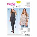 BURDA - 6789 Ladies Coordinates - Plus