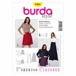 BURDA - 6980 Ladies Skort