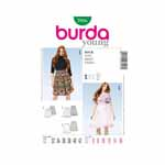 BURDA - 7016 Ladies Dress