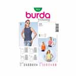 BURDA - 7051 Ladies Top
