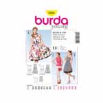 BURDA - 7054 Ladies Dress/Top