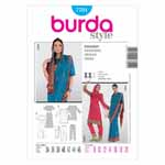 BURDA - 7701 Ladies Sari