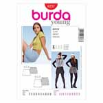 BURDA - 8237 Ladies Skirt-Young