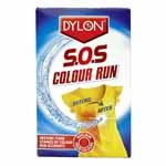 DYLON S.O.S Colour Run corrects most colour run disasters, restoring fabrics to their former glory. Its pH balanced colour safe formula means colours, whites and delicates can be treated together safely with beautiful results. Make colour runs a thing of the past with DYLON S.O.S Colour Run and reclaim your vibrant colours.