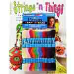 Suzanne McNeils DMC Strings N Things book and the Prism Rainbow Colors Craft Thread Pack. The Strings N' Things craft book includes 19 pages of fun and cool craft projects for kids and teens. Includes easy-to-follow instructions and diagrams.