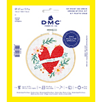 The DMC Stitch Kit Collection provides all you need to make this love inspired design your own. Perfect for gifting, make someone's heart skip a beat with your love for stitch.