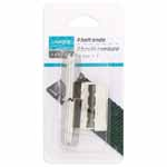 To prevent ends of webbing from fraying. Pack of 4 x 25mm belt ends.