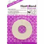 HeatnBond Quilter's Edge Lite is specially formulated for securing light to medium weight fabric pieces to other fabric surfaces so that they may be machine or hand sewn. Provides better control for bias and strip piecing without puckering or fraying and  <sup>3</sup>⁄<sub>16</sub>″ evenly matched seams.