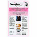 Backed by a dry adhesive film that is activated by heat, HeatnBond interfacing forms a no-sew bond three times stronger than other traditional fusible web without adding weight or stiffness. Choose medium weight as an all-purpose for medium or heavier fabrics. Use on; medium cotton, light denim, flannel, fleece, linen, light wool. Ideal for shirts, collars and button holes. With a low temperature and short pressing time, it allows for a wider range of materials to be bonded. There is no steam or pressing cloth needed, and it will not lift or pucker after washing. Machine washable, dry cleanable. 100% Polyester.