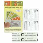 Additional adhesives and labels for existing owners of Swatch Buddies fans.