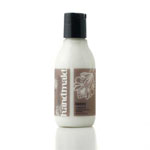 3 oz. bottle of Handmaid luxury hand creme. Apply sparingly. Rub thoroughly. Get back to it.