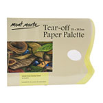 Use it to protect your palette and when the project was done just pull up the sheet throw it away and all set. The Tear Off Paper Palette consists of 36 sheets of wax coated paper the thumb hole allows easy handling and is glued on 3 sides to reduce movement of the sheets.