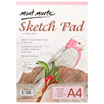 This sketch pad is practical and easy to use. Mont Marte Signature Sketch Pads will help you whatever it is your creations sense sketching. This pad has 25 sheets of 150gsm, Acid-free, smooth textured paper and it's a crisp, bright white and has very fine-toothed texture.